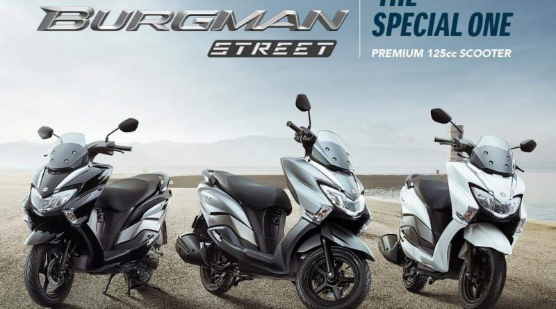 Suzuki Burgman Street 125 Launched In Nepal At Rs 2 29 000