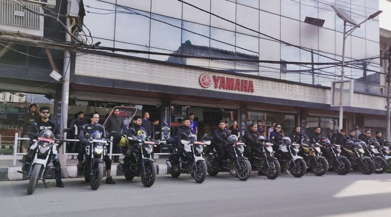 Yamaha flags off 'RIDE WITH ROADIES' to Lo Manthang