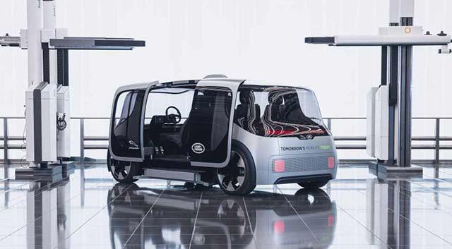 Jaguar Land Rover unveils a  new concept EV
