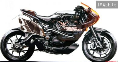 Could this be new sportbike by Harley's Davidson?