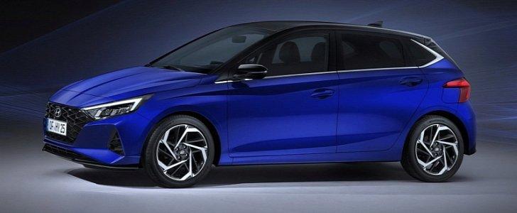 2020 Hyundai i20 image revealed