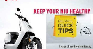 NIU shares few helpful tips to take care of your EV during this lockdown