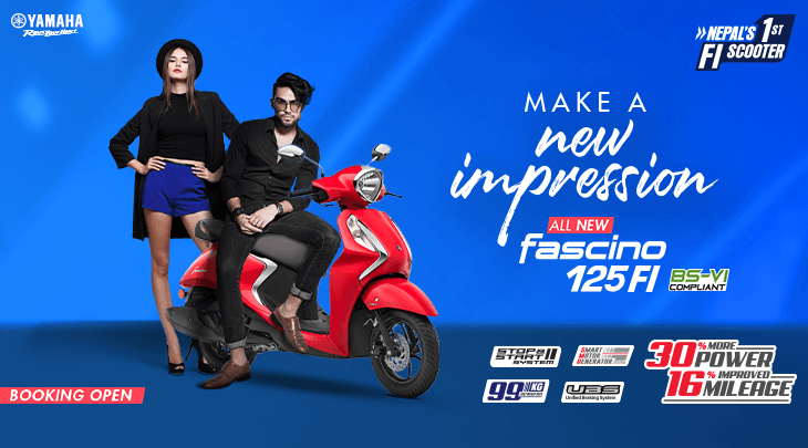 Yamaha Fascino 125 launched, Online Bookings available