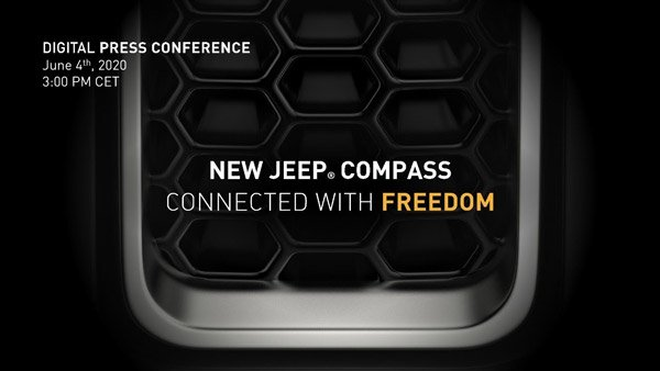 2020 JEEP Compass facelift first Global unveiling on 4th June