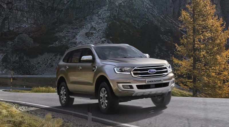2020 Ford Endeavour launches in Nepal at Rs 1.49 Crores