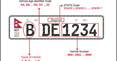 Government re-opens application for re-embossed number plate