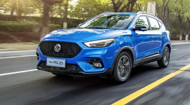 MG ZS facelift revealed in UK