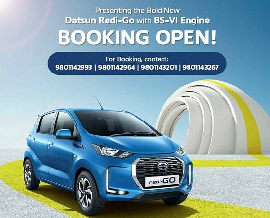 Booking opens for the new 2020 Datsun Redi-GO, Get exciting offer on Bookings