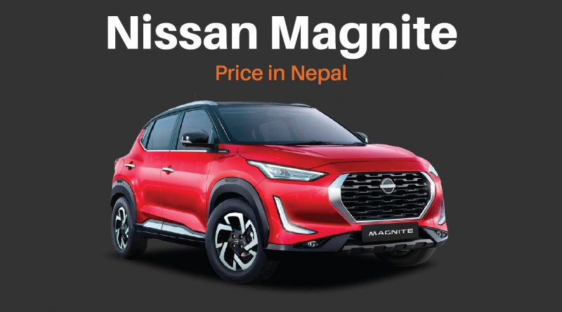 nissan magnite price in nepal